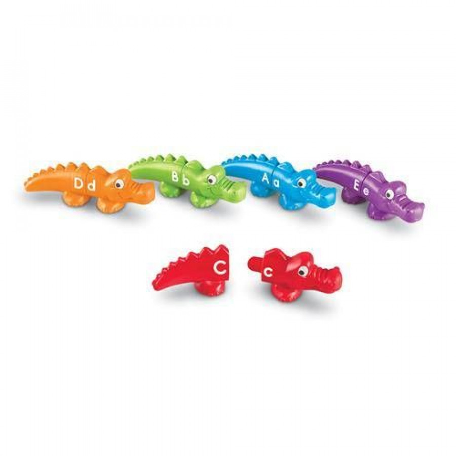 Crocodili cu litere 3