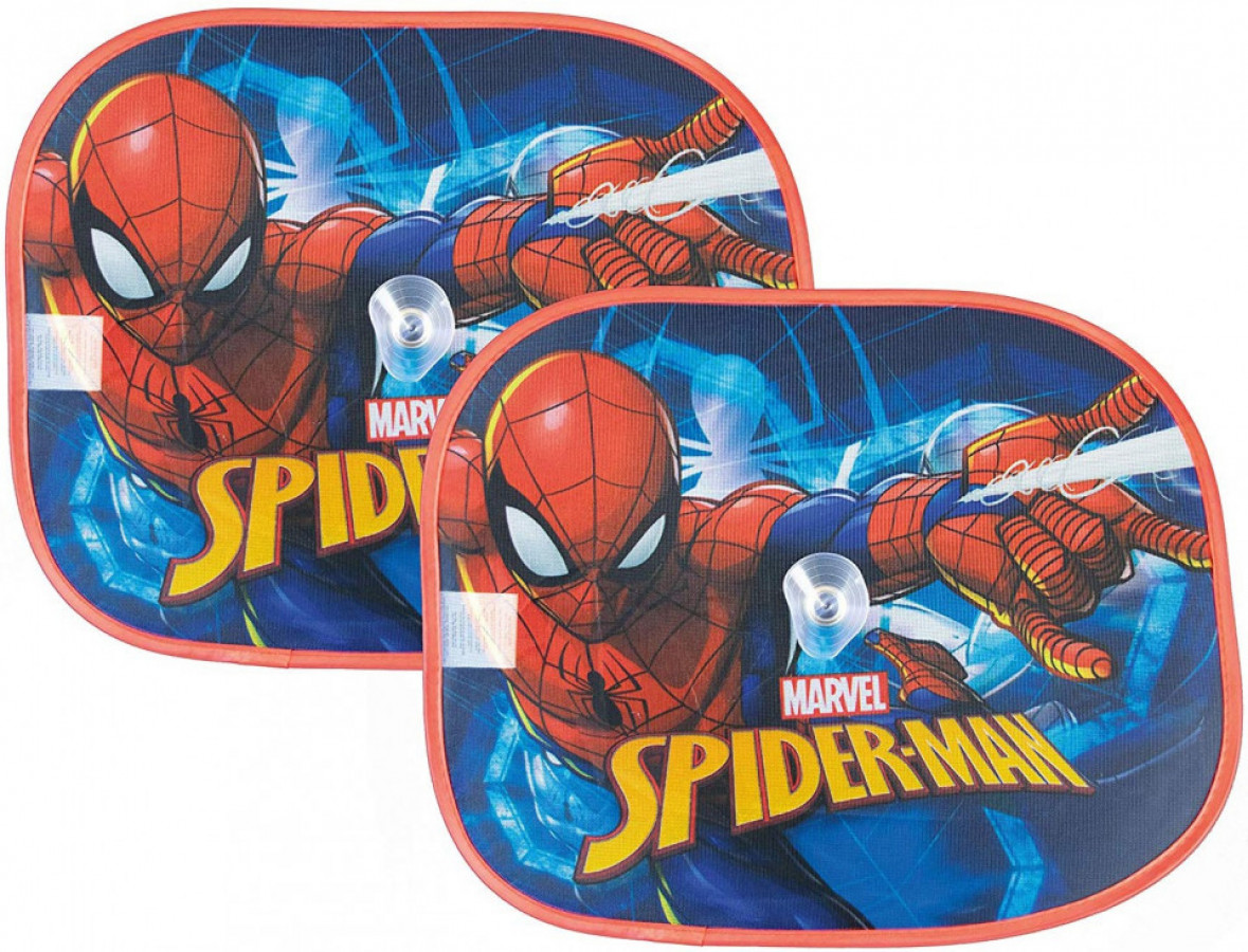 Set 2 parasolare auto Spiderman 0