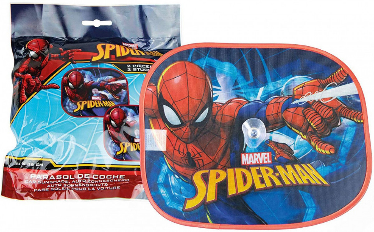 Set 2 parasolare auto Spiderman 2
