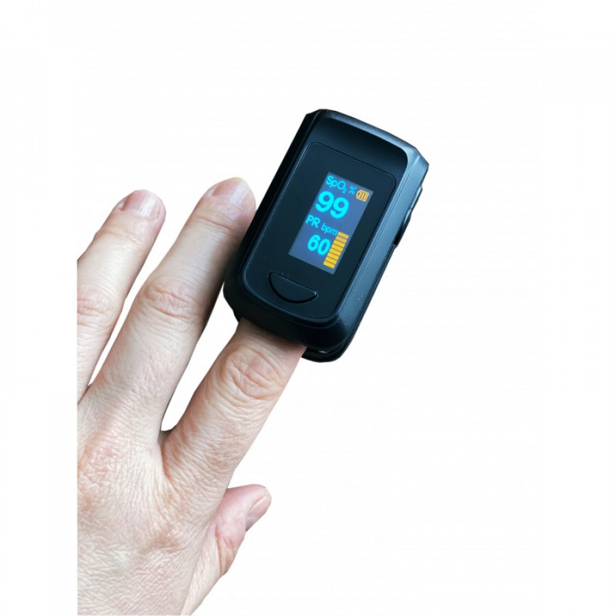 Pulsoximetru SinoHero S6 pentru deget, ecran color OLED 1