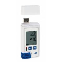 Data Logger profesional cu afisaj pentru temperatura si umiditate LOG210 PDF
