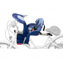 Scaun bicicleta copii SafeFront Deluxe, Pozitie montare Centru, 15 Kg WeeRide WR10