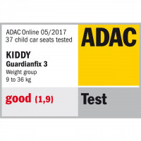 Scaun auto Kiddy Guardianfix 3 (ISOFIX) Grey Melange Hot Red ED. LIMITATA
