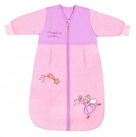 Sac de dormit cu maneca lunga Pink Fairy 18-36 luni 2.5 Tog