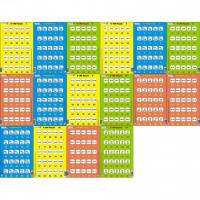 Set 16 Puzzle-uri 0 - 100, 25 Piese Larsen LRP48