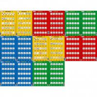 Set 16 Puzzle-uri 0 - 20, 25 Piese Larsen LRP47