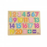 Puzzle Numere Jumini