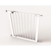 Poarta de siguranta Noma Easy Fit, presiune, 75-82 cm, metal alb, N93439