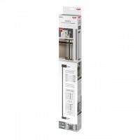 Set 2 extensii 7 cm pentru porti de siguranta DesignLine Puristic, metal gri antracit, Reer 46041