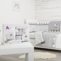 Set de pat 4 piese pentru bebelusi Comfi-Dreams Sleepy Sheep 843060