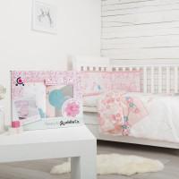 Set de pat 2 piese pentru bebelusi Comfi-Dreams Lovebirds 843022