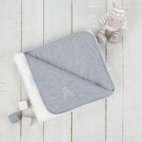 Paturica reversibila din tricot/fleece 90x70 cm Comfi Love Grey 844524