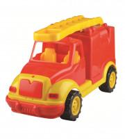 Masina pompieri 43 cm, in cutie Ucar Toys UC108