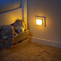 Lampa de veghe 2 in 1 cu LED-uri gri REER 52141