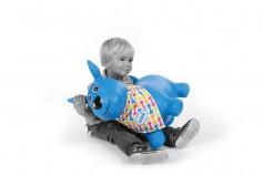 Catel saltaret albastru LUDI