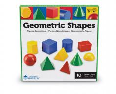 Corpuri geometrice din plastic - 10 piese