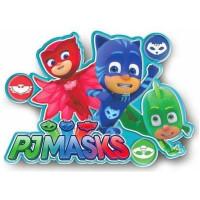 Sticker de perete cu led PJ Masks SunCity LEY2217LQB