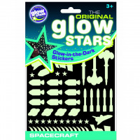 Stickere Navete spatiale fosforescente The Original Glowstars Company B8003
