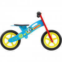 Bicicleta din lemn fara pedale 12 Mickey Seven SV9908