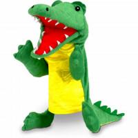 Marioneta de mana Crocodil Fiesta Crafts FCT-2740
