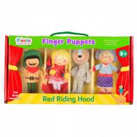 Set 4 Marionete pentru deget Scufita Rosie Fiesta Crafts FCT-2376