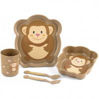 Set pentru masa 5 piese Maimutica Lulabi 7973095