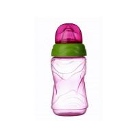 Cana anticurgere Minut Baby 6+, cu cioc silicon 300 ml, diverse culori