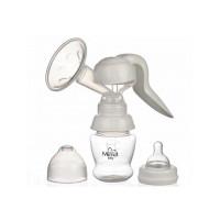 Pompa san Minut Baby manuala cu biberon si tetina, fara BPA