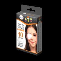 Plasturi oculari sterili Minut, pentru copii, 10buc