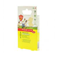 Plasturi cu citronella, protectie naturala  impotriva tantarilor, 18 buc, 2.5x1.6 cm