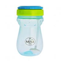 Cana anticurgere Minut Baby cu pai mobil, 360 ml, 6+