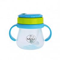 Cana anticurgere Minut Baby cu pai mobil, 250 ml, 6+