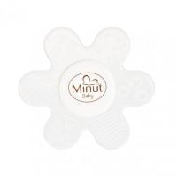 Jucarie dentitie floare silicon Minut Baby, 3+