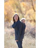 Hanorac Boba (Boba Hoodie) Pentru Purtarea Copilului Și Alăptare XL