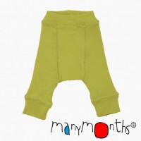 Pantaloni dublati 0-3/4 luni Sweeat apple /Sequoia Green(44-56/62 cm)