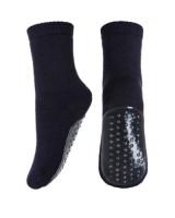 Papuci-sosete groase mp Denmark din lână – Night Blue marime 29-32