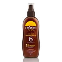 Elmiplant Sun- Ulei spray bronzare rapida, SPF6 cu ulei de argan 100% natural, 150 ml