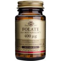 Folate as Metafolin Solgar 400 μg, 50 comprimate