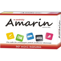 Amarin Supliment Alimentar Impotriva Raului De Miscare, 30 Tablete