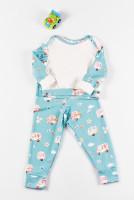 Pijamale copii bumbac organic