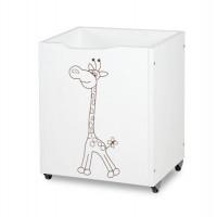 Mobilier Camera Copii Si Bebelusi KLUPS Safari Giraffe Alb