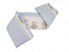 Aparatoare Laterala MyKids Teddy Toys Blue M2 140x70