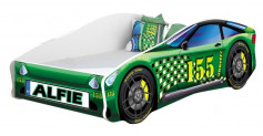 Pat Tineret MyKids Race Car 04 Green-160x80