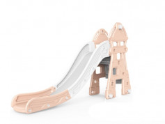 Tobogan MyKids Lighthouse cu cos de baschet Pink