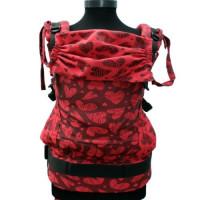 SSC CASA Zamfirei Full Wrap Natika (rosu cu negru) Standard Full wrap