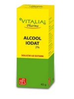 Alcool Iodat 2%- Vitalia Pharma 40g