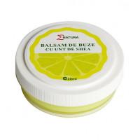 Balsam de buze Enatura cu unt shea si lamaie, 20 ml