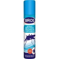 Bros- Spray adulti impotriva tantarilor si capuselor 90 ml