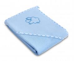 Prosop cu gluga Sensillo SHEEP 80x80 cm Blue
