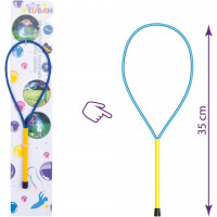 Bat cu inel pentru baloane de sapun 35 cm Tuban TU3605